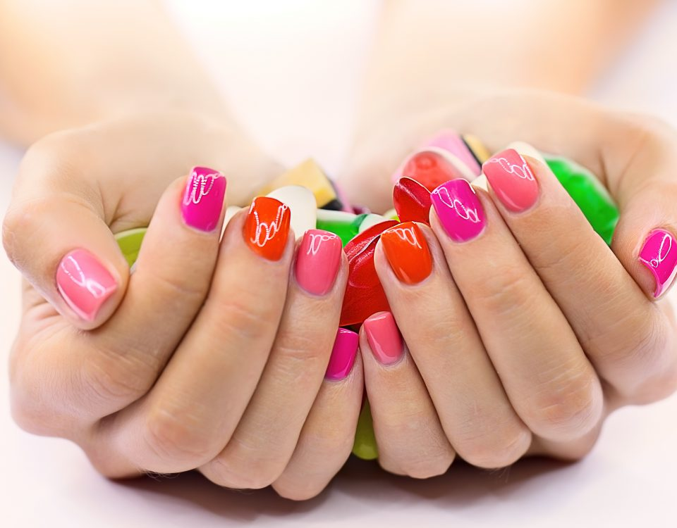 nail-art-printanier